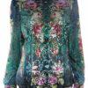 Michal-Negrin-Button-Down-Shirt-Velvet-Roses-Turquoise